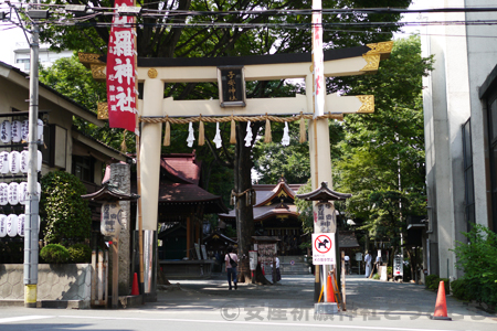 子安神社 鳥居・境内の様子